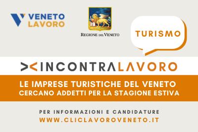 IncontraLavoro Turismo : Selezioni per addetti nel settore turistico-alberghiero InformaGiovani Montecchio Maggiore